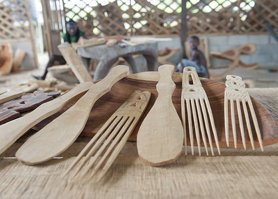 Die Holzschnitzer von Totomboti