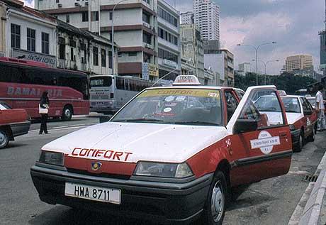Malaysia_Kuala Lumpur_Taxi_©Hilke Maunder