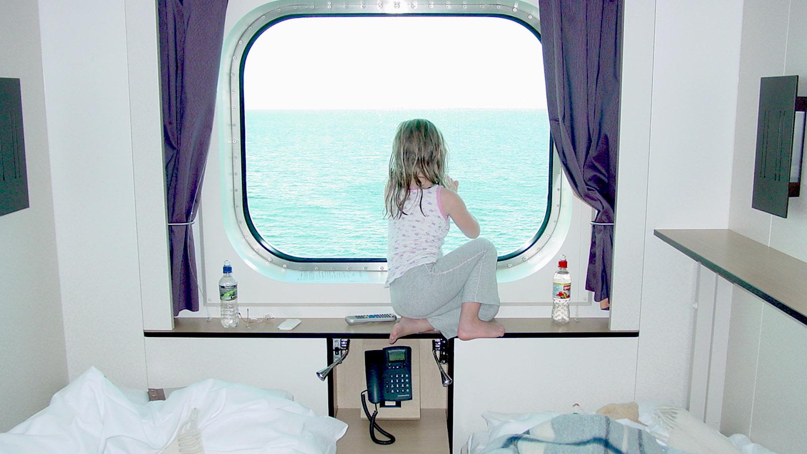 Unsere Kabine an Bord von MS Fram. Foto: Hilke Maunder