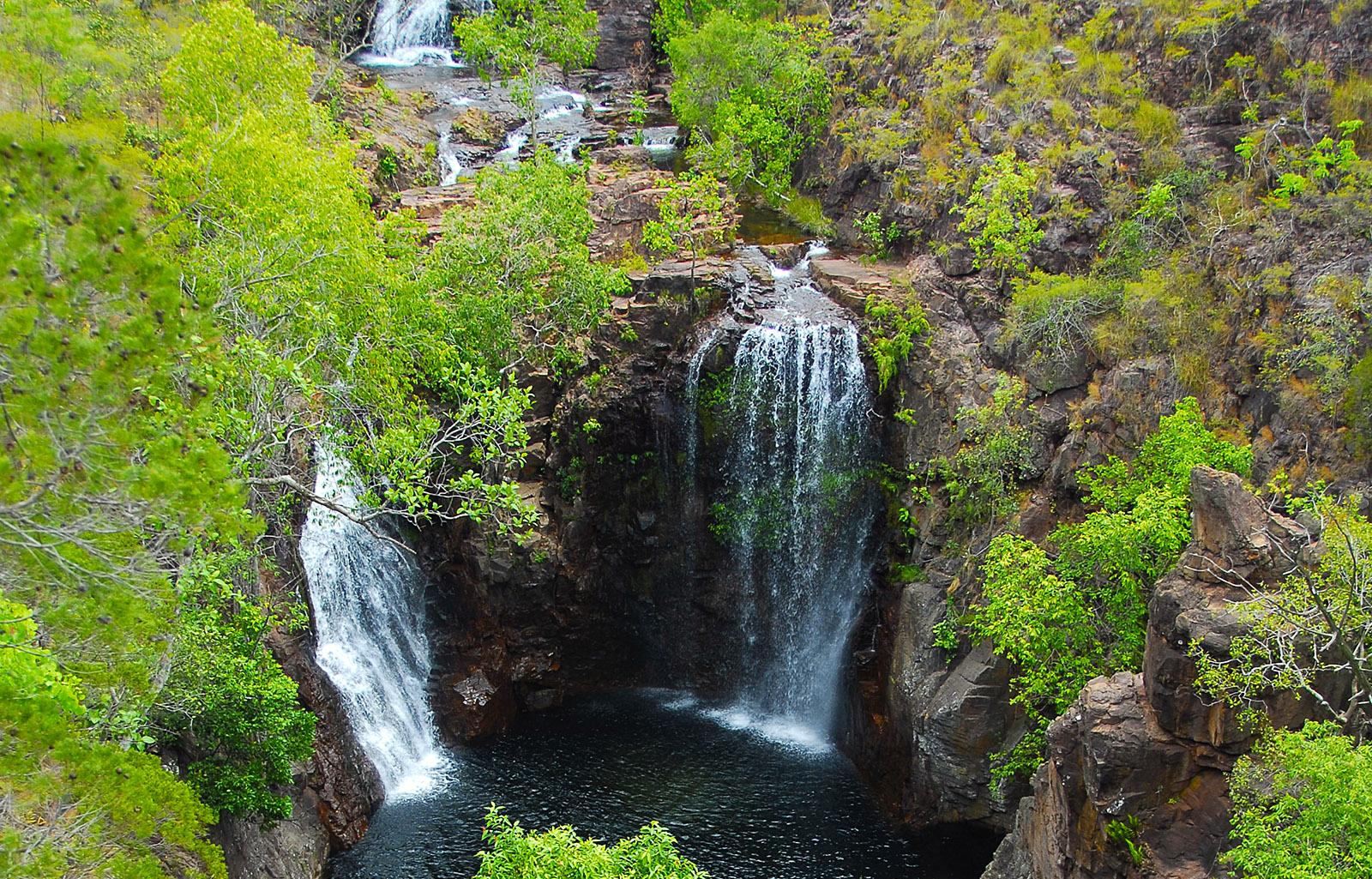 Die Florence Falls im Litchfield National Park. Foto: Hilke Maunder