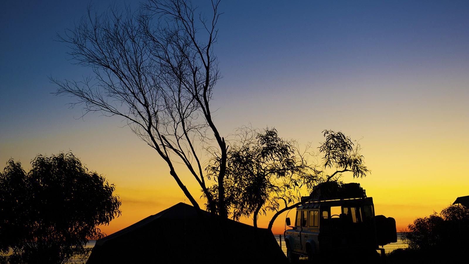 Langsam wird es Nacht am Cape Leveque. Foto: Hilke Maunder