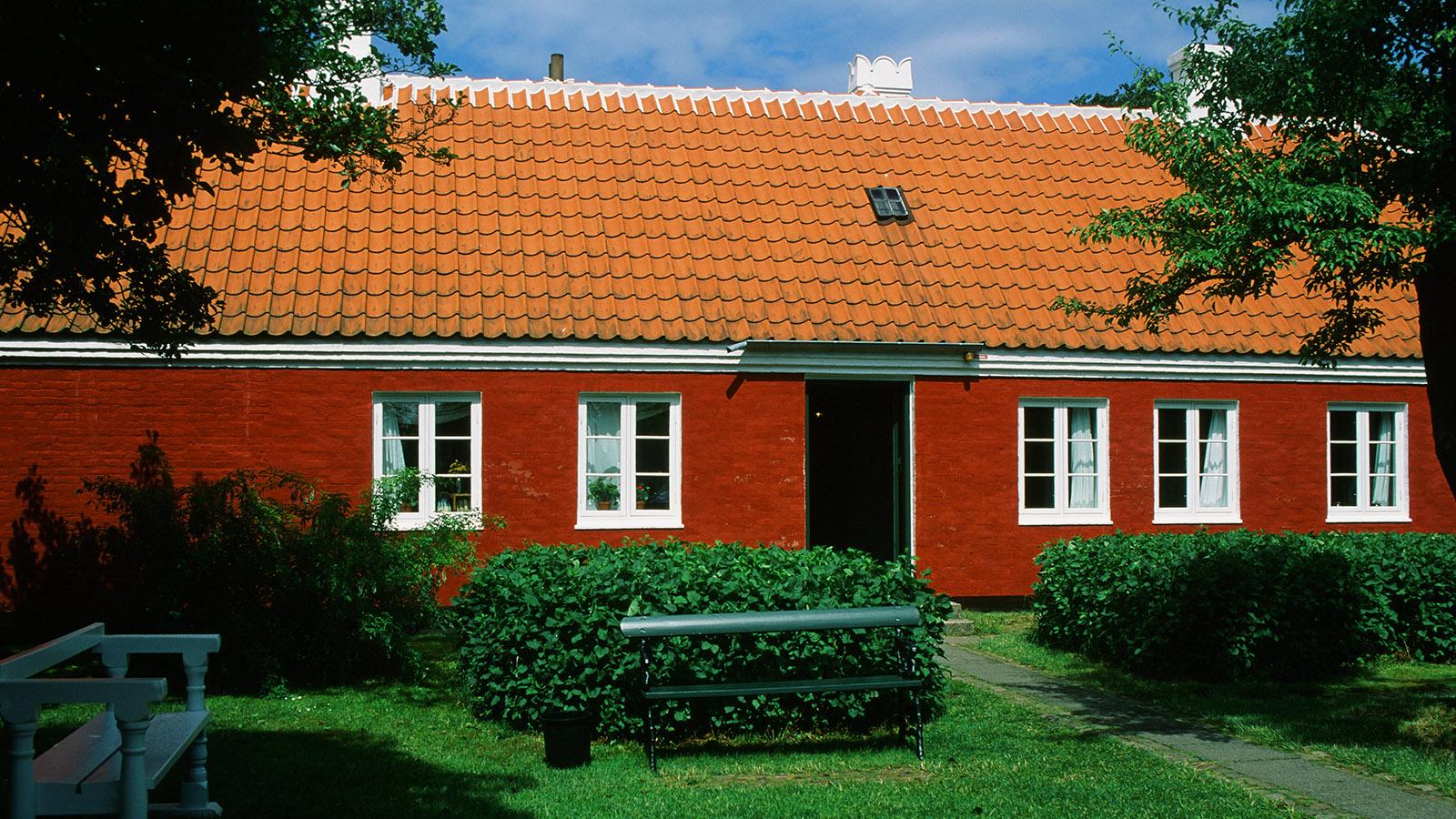 Skagen: Das Haus von Anna und Michael Ancher ist heute ein Museum. Foto: Hilke Maunder