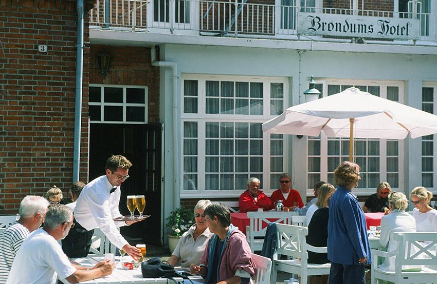 Brøndums Hotel in Skagen war ein beliebter Künstlertreff. Foto: Hilke Maunder