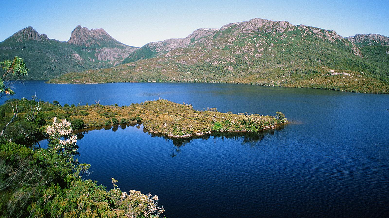 Tasmanien: Cradle Mountain und Lake Dove. Foto: Hilke Maunder