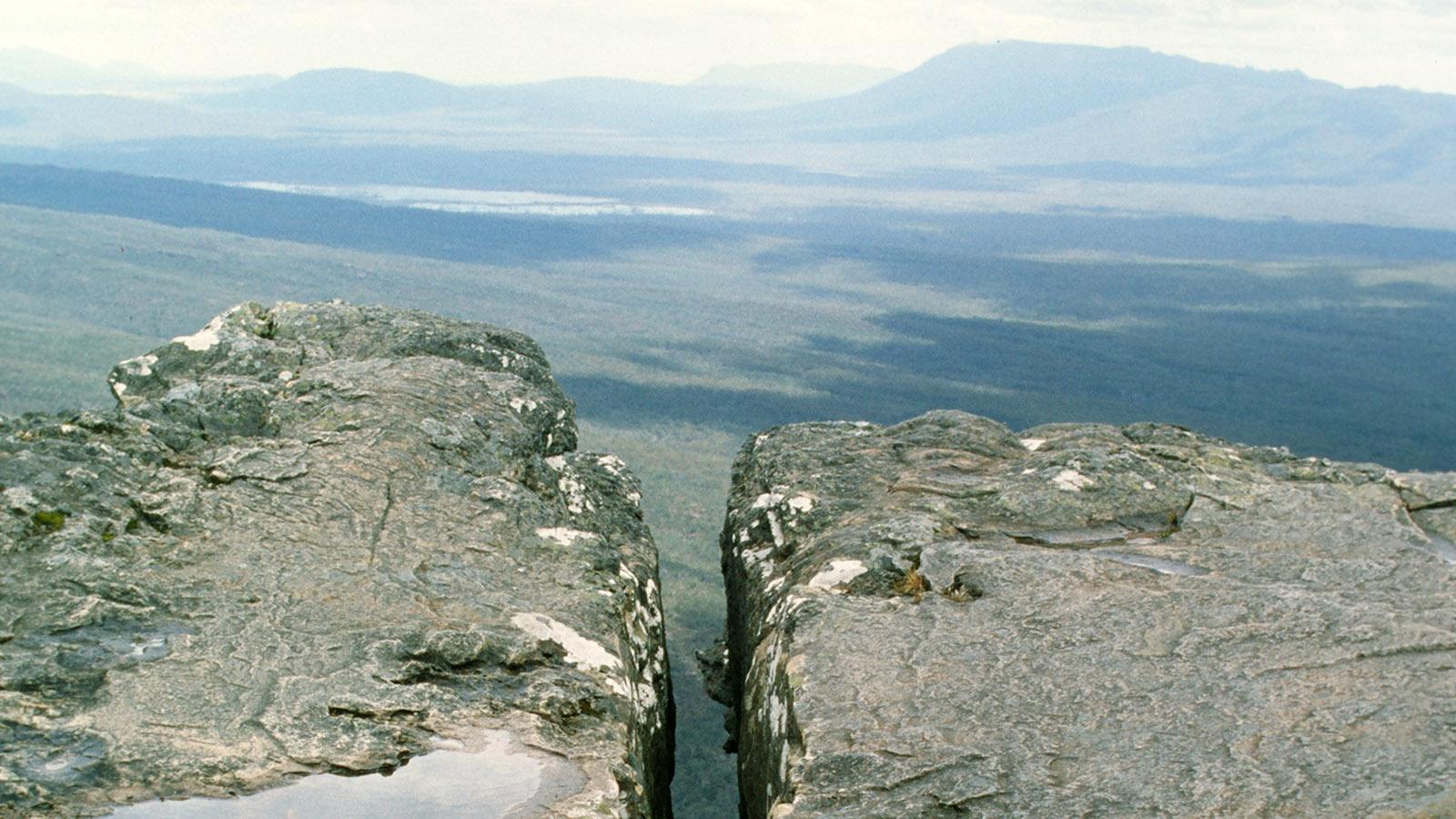 Blick von The Balconies ins Tal. Foto: Hilke Maunder