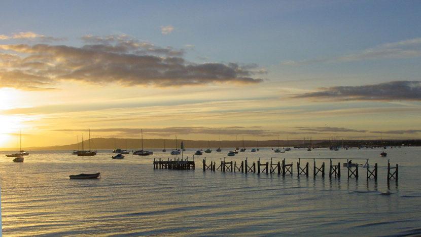 Mornington Peninsula: Morgenstimmung an der Port Phillip Bay. Foto: Hilke Maunder
