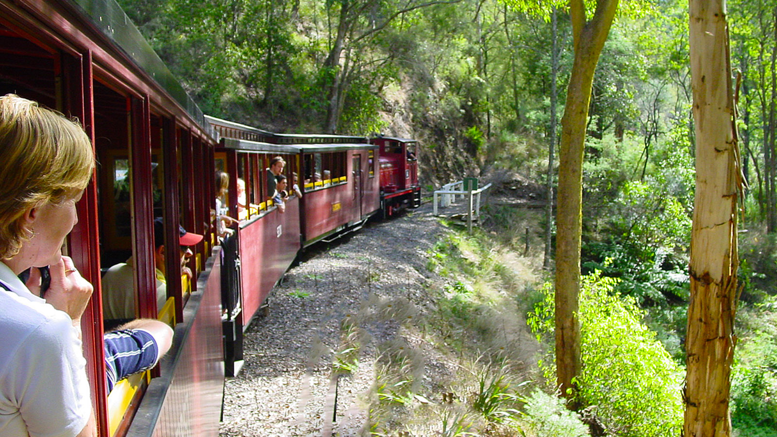 Die Walhalla Goldfields Railway. Foto: Hilke Maunder