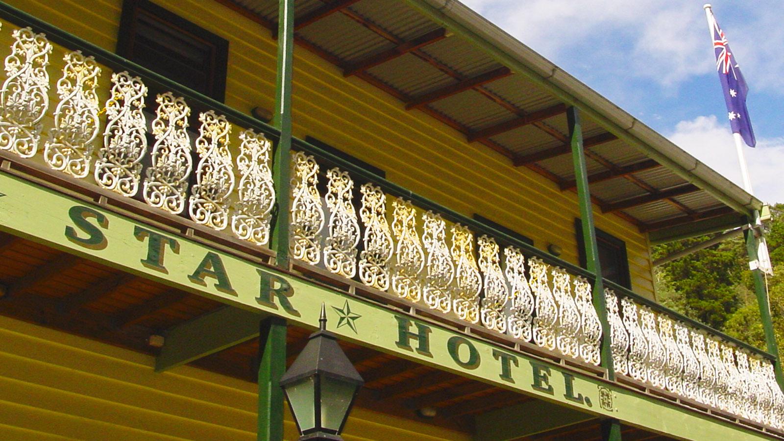 Nostalgisch: das Walhalla Star Hotel. Foto: Hilke Maunder