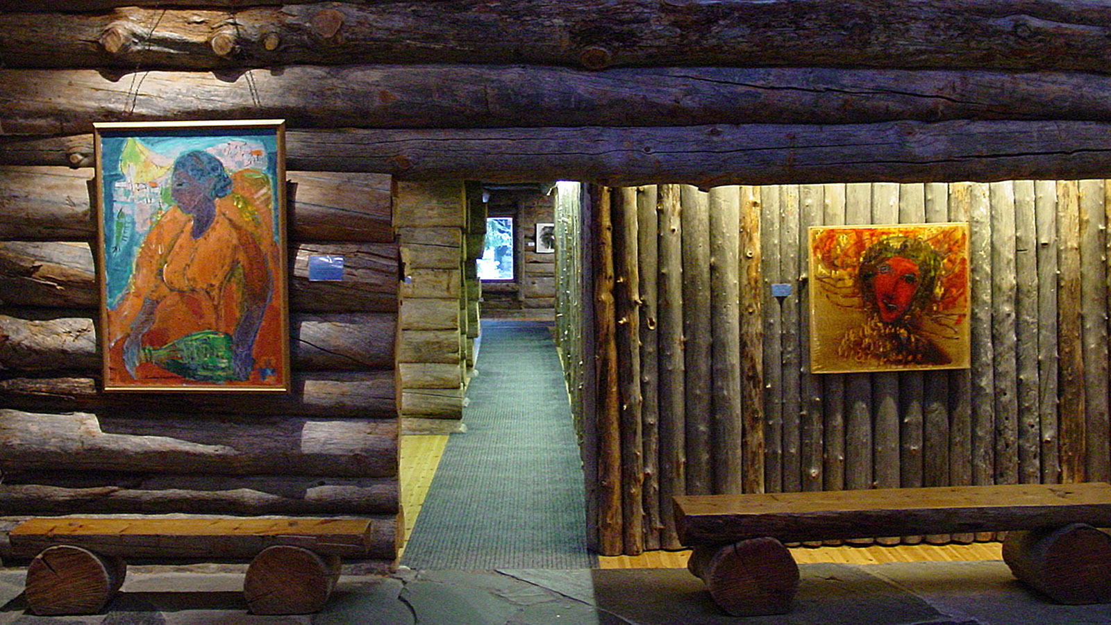 Das Reidar Särestoniemi-Museum zeigt die schönsten Werke des finnischen Malers (1925-1981). Foto: Hilke Maunder