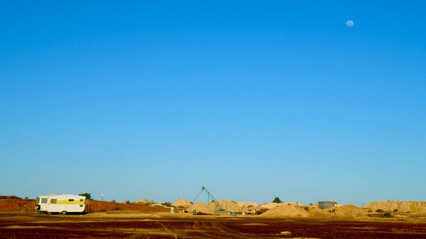 White Cliffs: ein Opal-Claim. Foto: Hilke Maunder