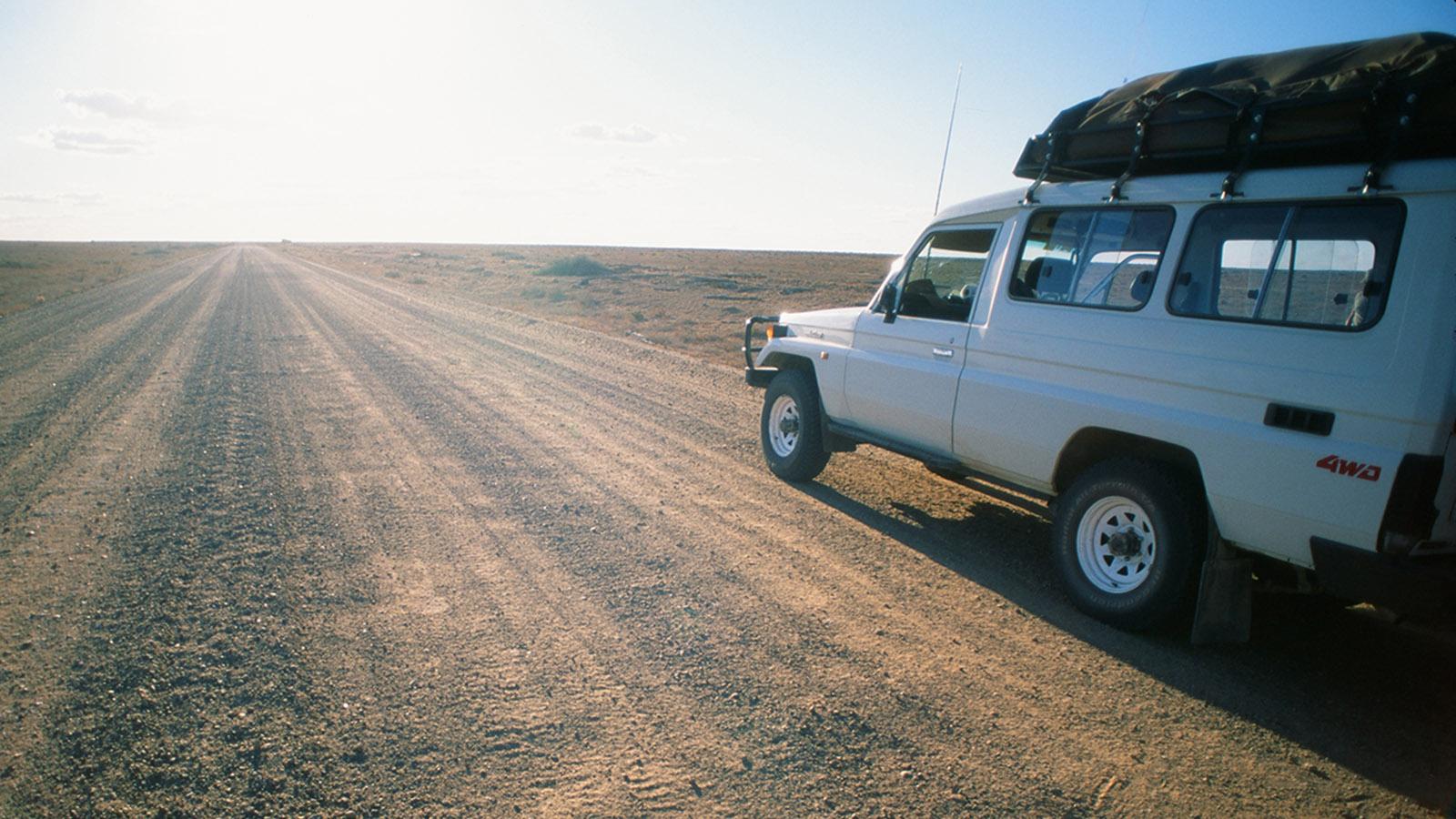 Offroad durch das Herz Australiens. Foto: Hilke Maunder