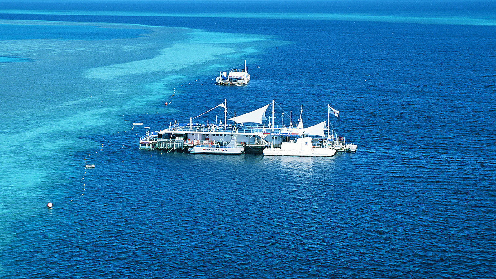 Whitsundays: Die Reefworld am Hardy Reef. Foto: Hilke Maunder