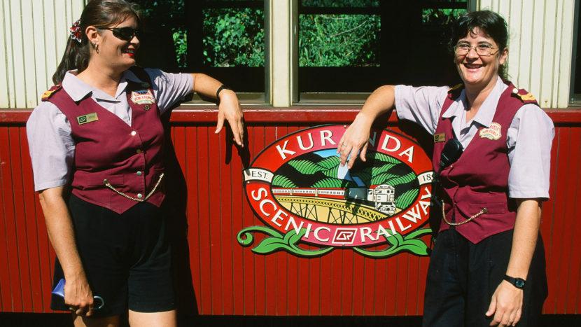 Nostalgischer Schienentraum: die Kuranda Scenic Railway. Foto: Hilke Maunder