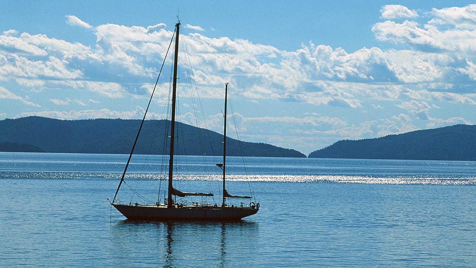 Whitsundays: Segeltörn bei Hamilton Island. Foto: Hilke Maunder