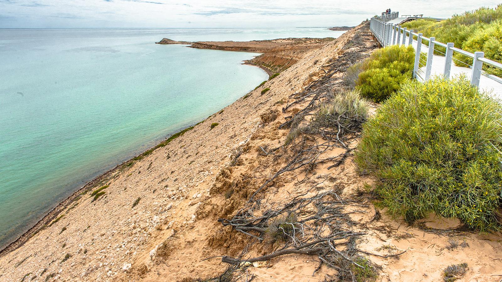 Coral Coast: Eagle Bluff im Welterbe Shark Bay. Foto: Hilke Maunder