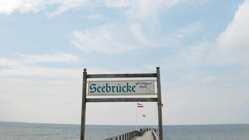 Die Seebrücke vom Weissenhäuser Strand. Foto: Hilke Maunder