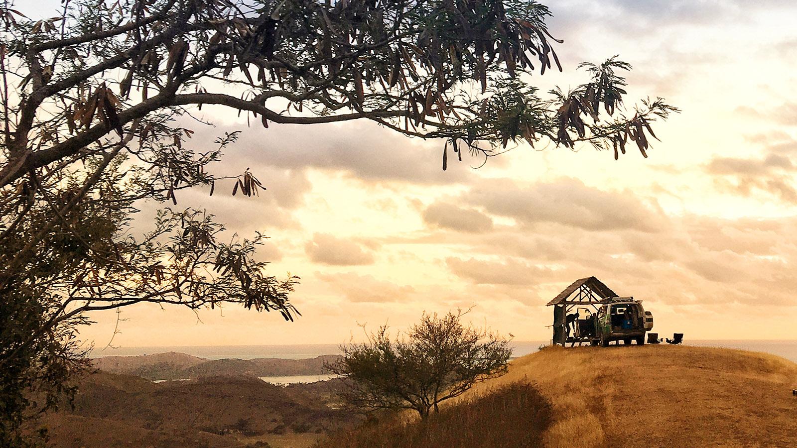 Neukaledonien: Die Westküste von Grande Terre bei Bourail. Foto: Hilke Maunder