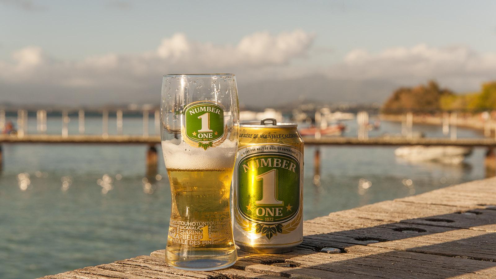 Auch lokales Bier wird in Neukaledonien gebraut. Foto: Hilke Maunder