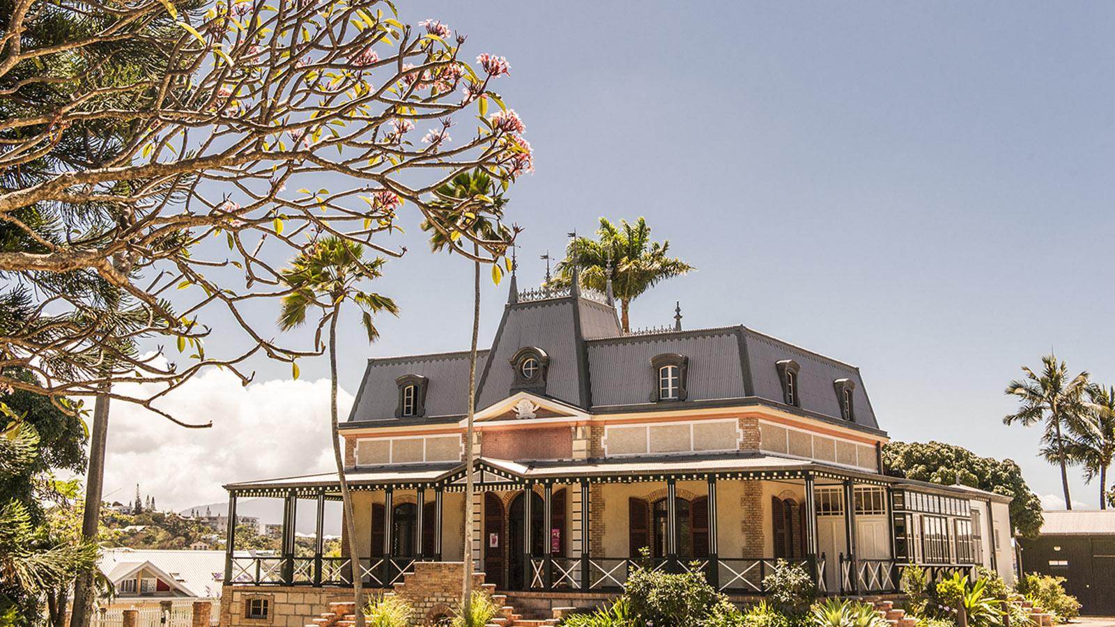 Neukaledonien: Château Hagen in Nouméa. Foto: Hilke Maunder