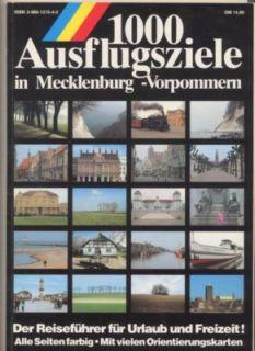 1000 Ausflugsziele in Mecklenburg-Vorpommern