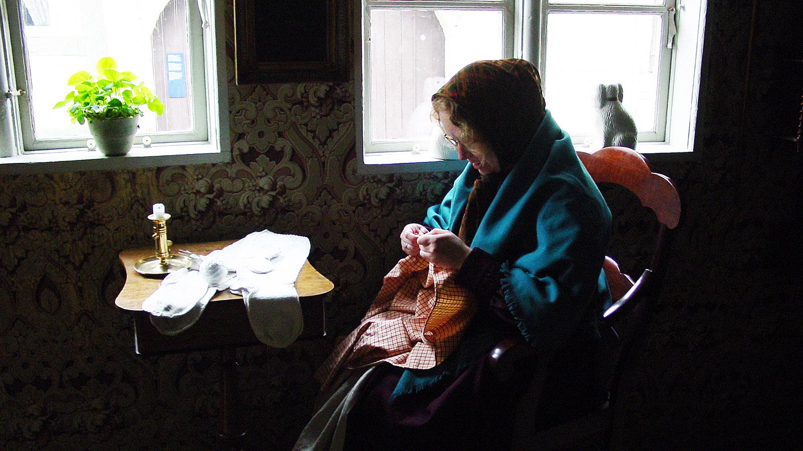 Wie in Großmutters Zeiten: Den Gamle By. Foot: Hilke Maunder
