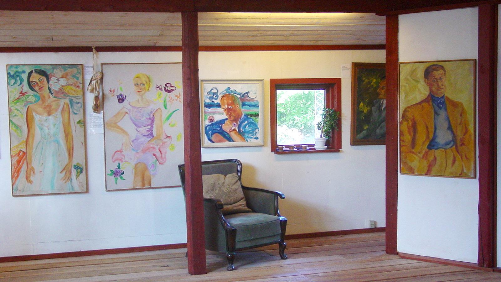 Thy: Wohnhaus und Atelier von Kirsten Kjær sind heute ein Museum. Foto: Hilke Maunder