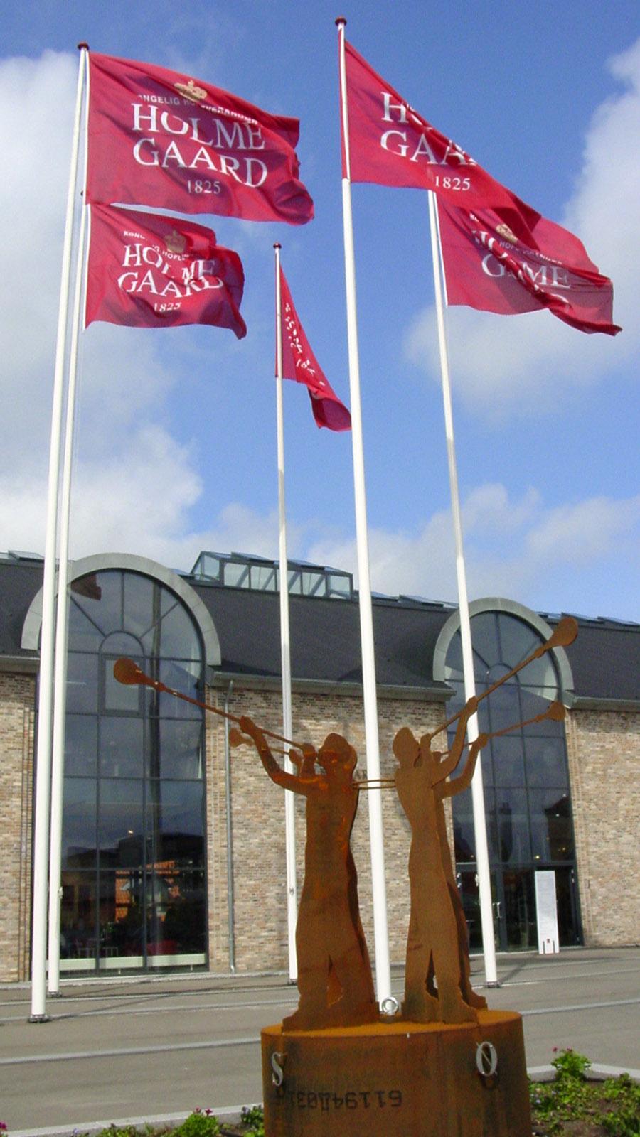 Die Erlebnisfabrik von Holmegaard. Foto: Hilke Maunder