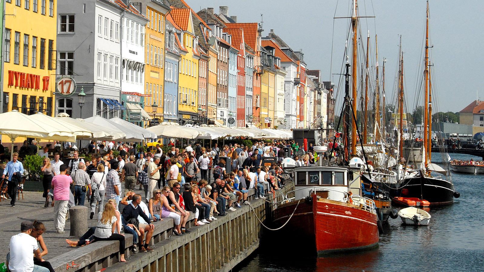 Hyggelig & maritim: Nyhavn. Foto: Hilke Maunder
