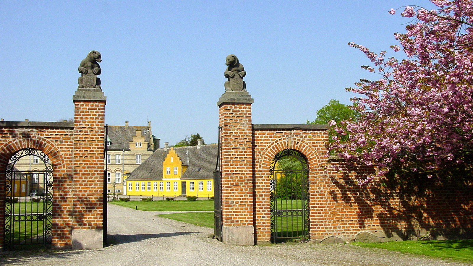 Lolland: Herrenhaus bei Errintlev. Foto: Hilke Maunder