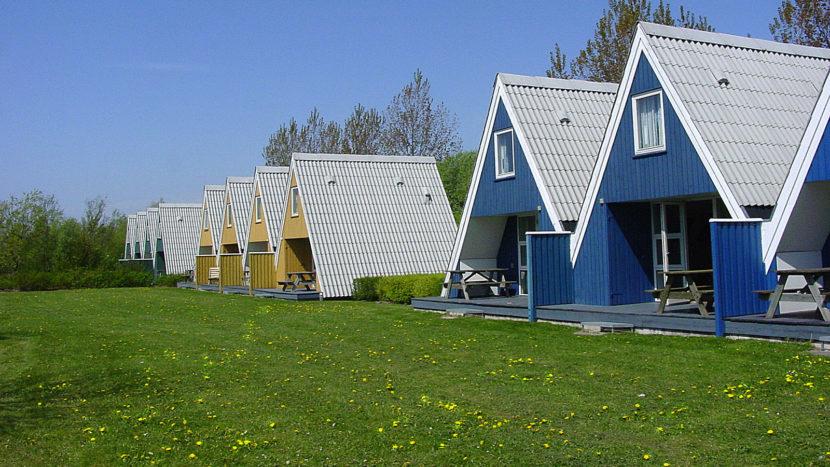 Lalandia: der Ferienhaus-Typ A3 für drei Personen. Foto: Hilke Maunder