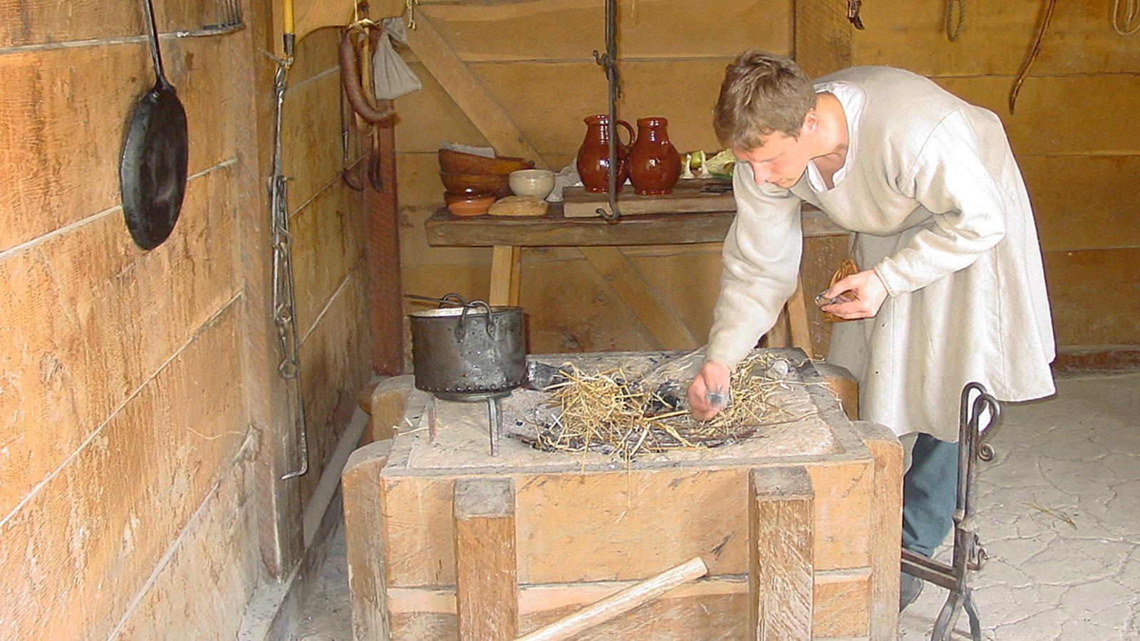 In der Töpferei des Mittelalter-Zentrums. Foto: Hilke Maunder