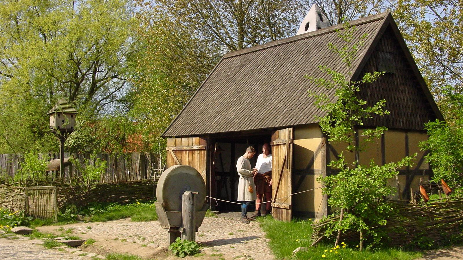 Die Schmiede des Mittelalter-Zentrums. Foto: Hilke Maunder