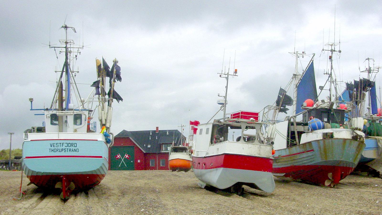 Thorup auf Thy mit seinen Strandfischern, Foto: Hilke Maunder