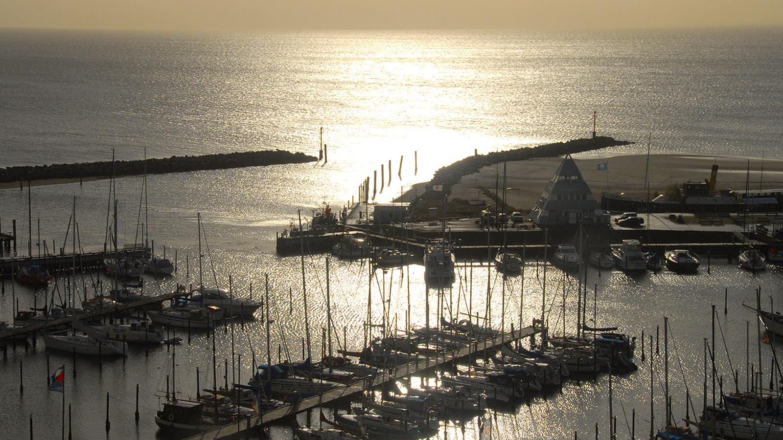 Das Ostseebad Damp am frühen Morgen. Foto; Hilke Maunder