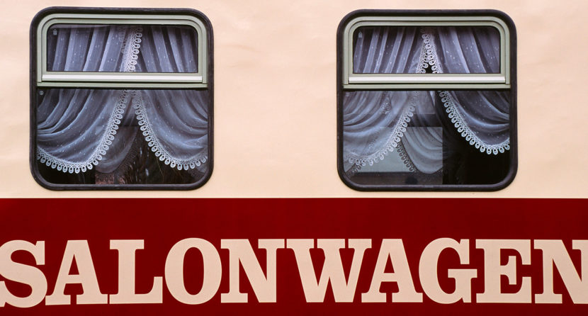 """Der Salonwagen der Kleinbahn """"Molli"""". Foto: Hike Maunder"""