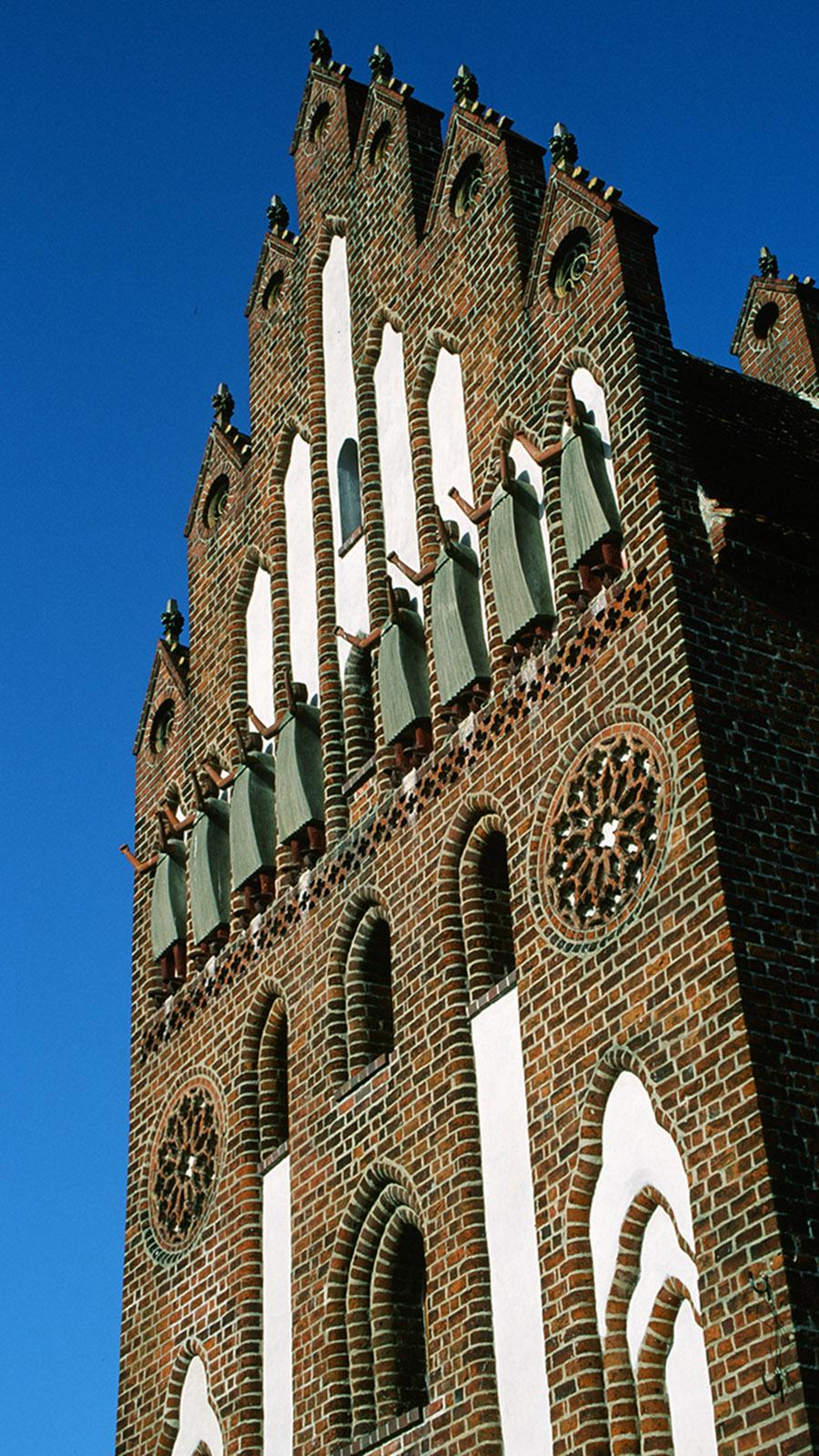 Das Neue Tor von Neubrandenburg. Foto: Hilke Maunder