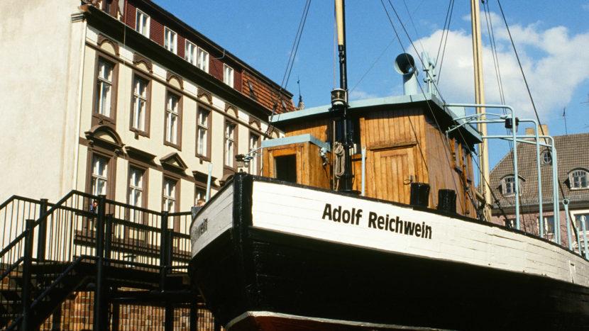 Stralsund: Deutsches Meeresmuseum, Außenbereich. Foto: Hilke Maunder