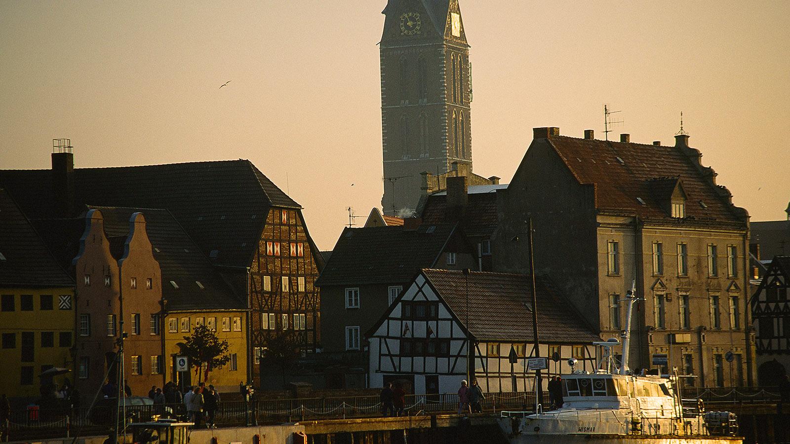 Der Alte Hafen von Wismar. Foto: Hilke Maunder