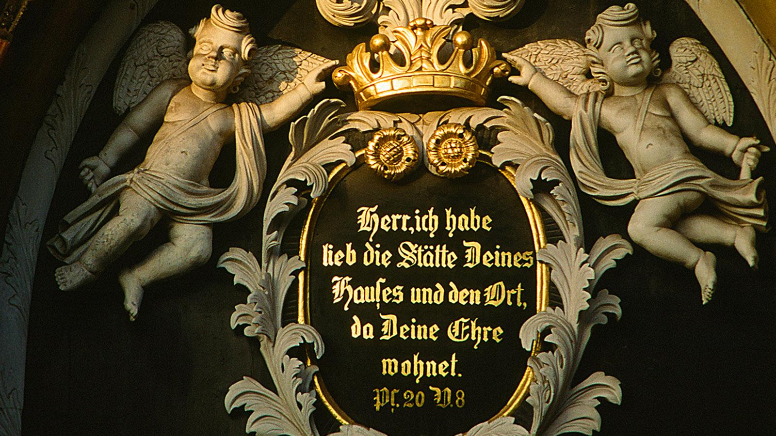 Das Portal von St. Nikolai zu Wismar.