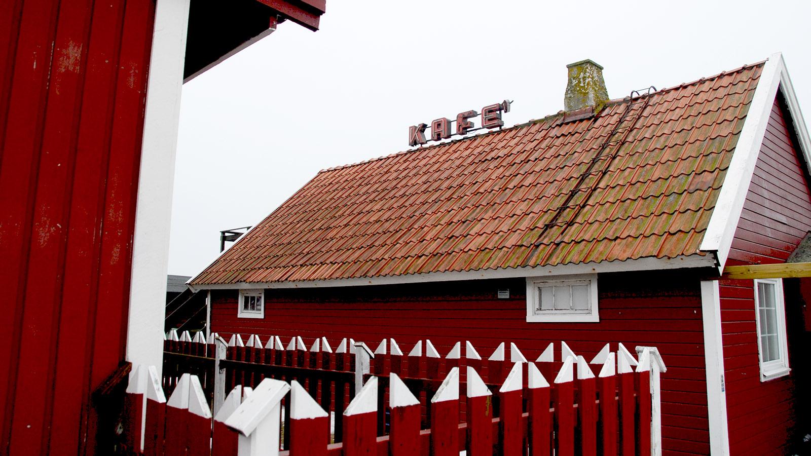 Schonen: Das Café an der schwedischen Südspitze bei Smyggehamn. Foto: Hilke Maunder