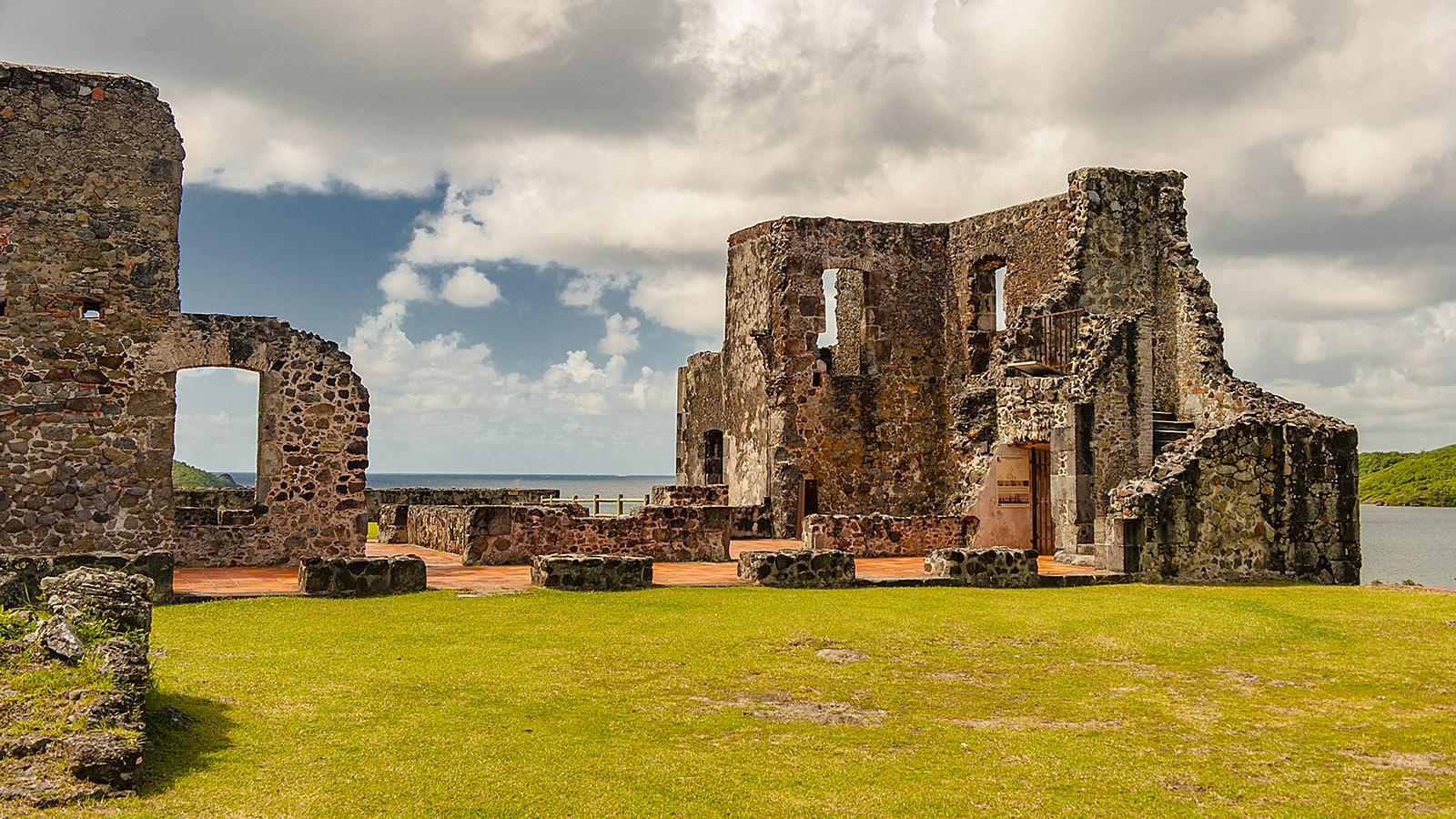 Martinique. Ruine eines Zuckerbarons_ Château Dubuc. Foto: Hilke Maunder