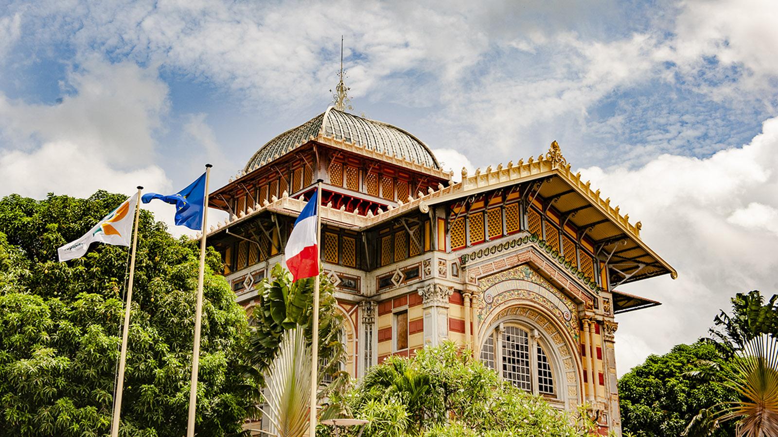 Martinique. Die Bibliothèque Schoelcher. Foto: Hilke Maunder