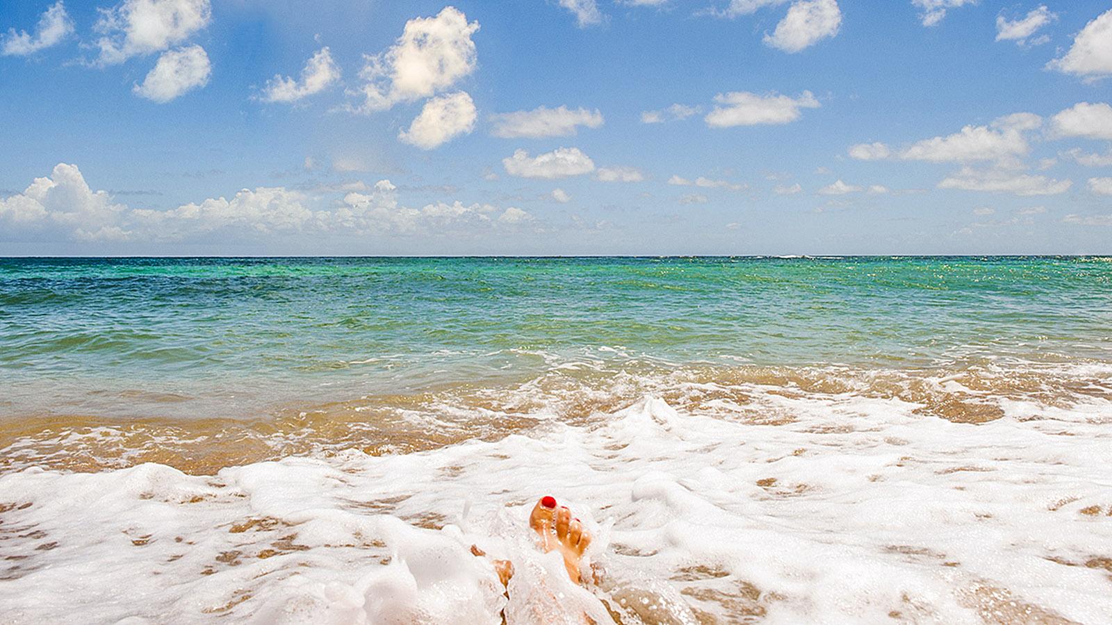 Martinique. Karibiktraum: der Strand der Anses de l'Arlet von Martinique. Foto: Hilke Maunder