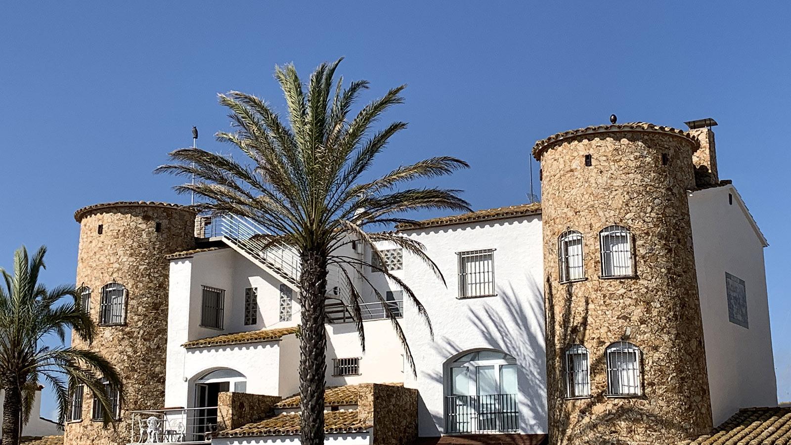 Schmuckes Ferienhaus an der Costa Brava. Foto: Hilke Maunder