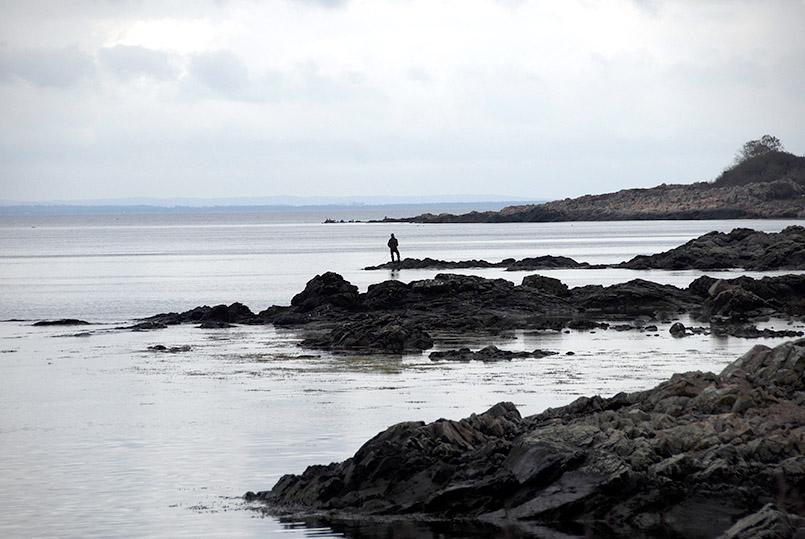 Die Küste bei Ariild am Kullen (Kullaberg)