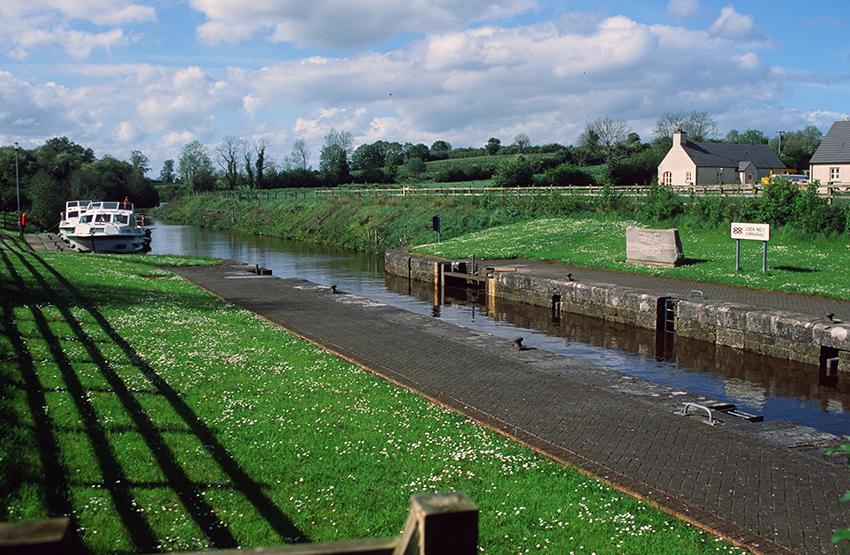Irland/Shannon-Erne-Waterway: Corraquill Lock.