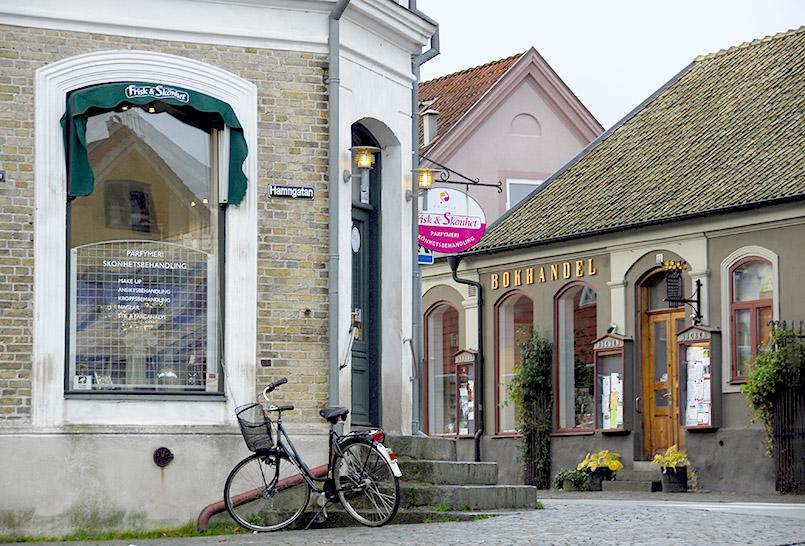 Am Markt von Båstad