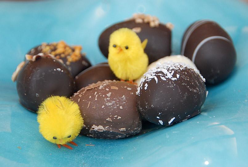Snogebaek: Kjaerstrup - handgefertigte Schokolade