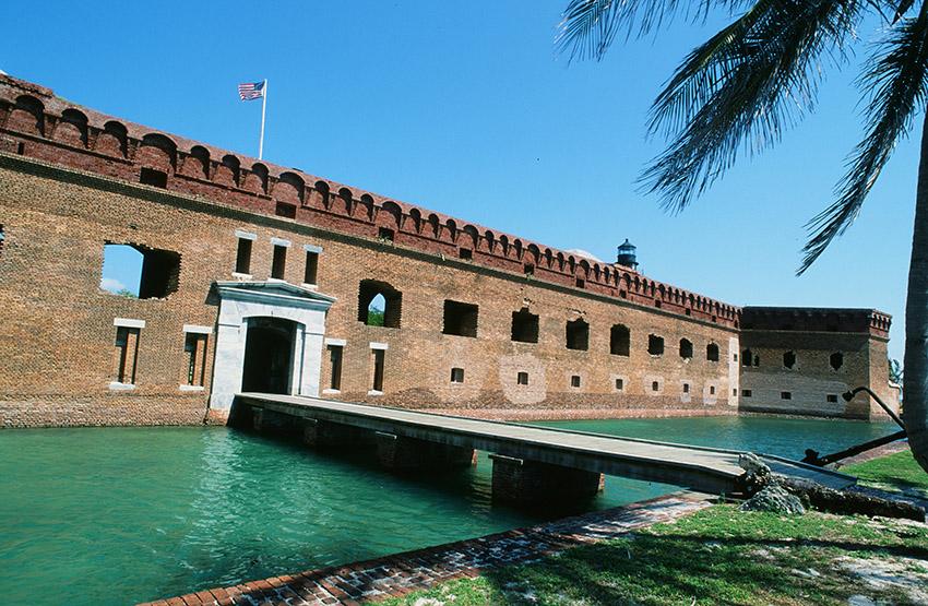 USA/Florida/Florida Keys: Dry Tortugas, Fort
