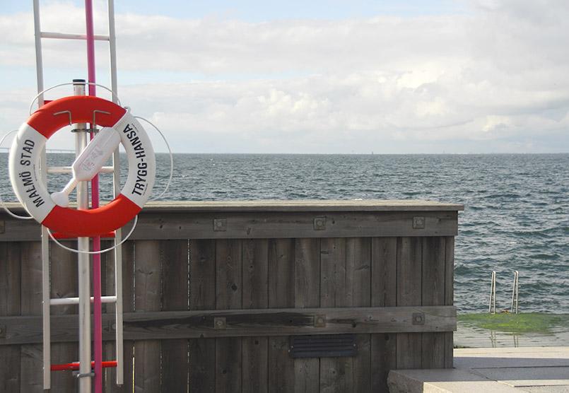 Die Ostsee - ganz nah in Västra Hamnen